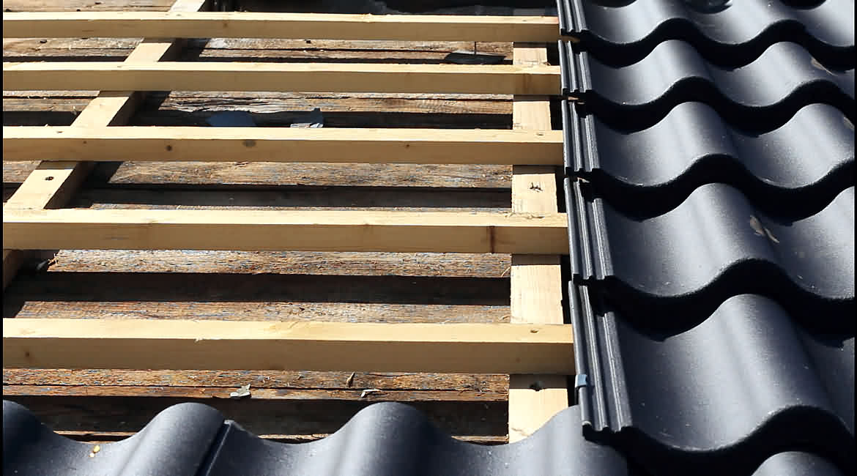 Dachsanierung eines ehemaligen Getreidesilos